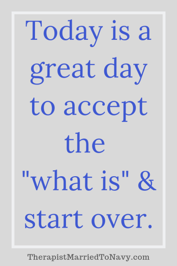 Quote on starting over