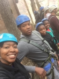 Gatlinburg 2016. ZipLining